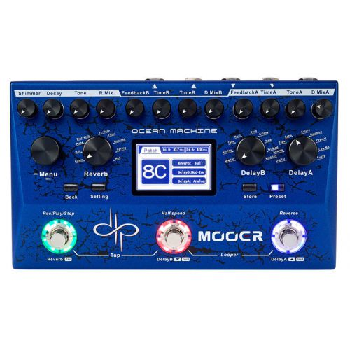 Mooer Ocean Machine 效果器