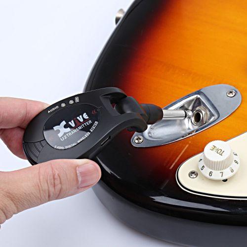 Xvive U2 無線發射/接收器 電吉他/貝斯可用