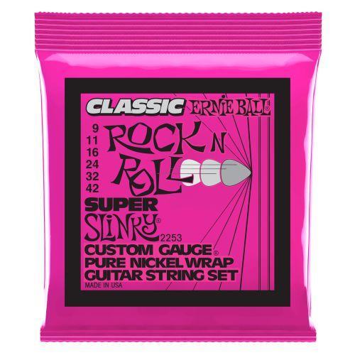 Ernie Ball ROCK'N'ROLL 09-42 純鎳電吉他弦 (2253)