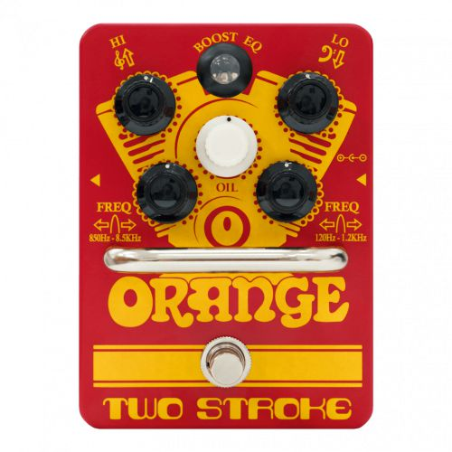 Orange 效果器 Two Stroke Boost EQ