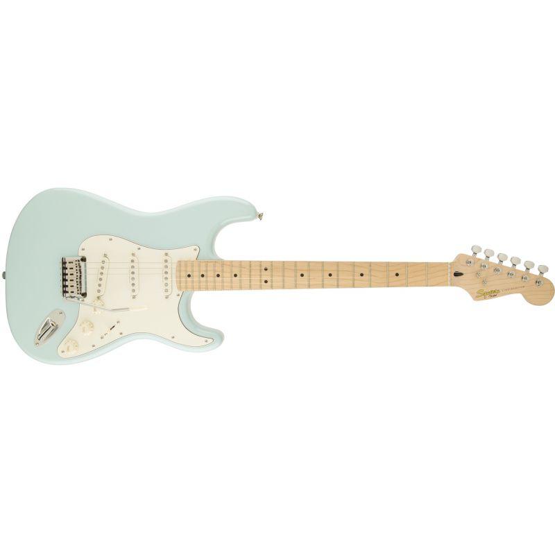 Squier Deluxe Stratocaster 電吉他 - Daphne Blue