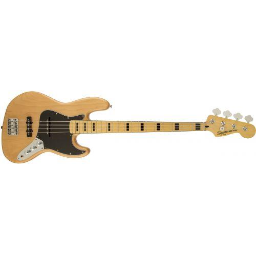 Squier 電貝斯 Vintage Modified 70s J-Bass - 原木色 Natural