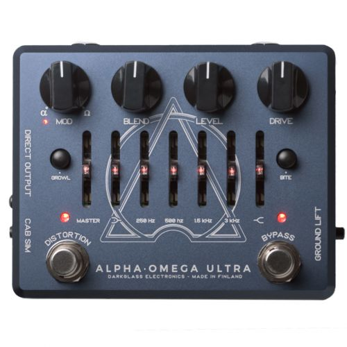 Darkglass Alpha Omega Ultra 貝斯前級效果器