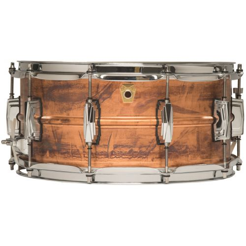 "Ludwig Copperphonic 6.5x14"" 小鼓 仿古鏽蝕紅銅 LC663"