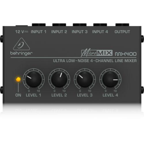 Behringer MICROMIXMX400 混音器