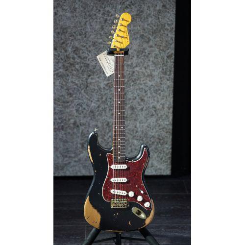 Nashguitars 客製仿舊吉他 S63 Black 黑色 / 重度仿古 Heavy / 玫瑰木指板