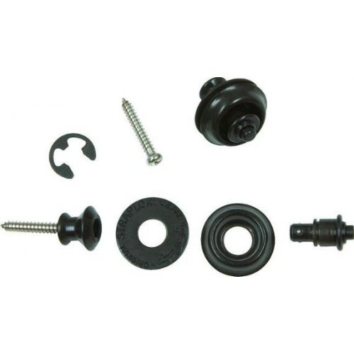 Dunlop Dual Design Straplok System 安全背帶扣 黑色