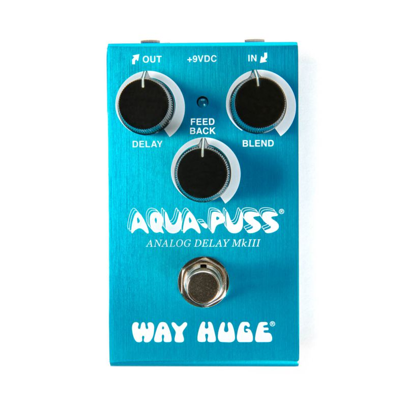 Dunlop Delay效果器 Way Huge Smalls系列 Aqua-Puss Analog Delay mkIII WM71