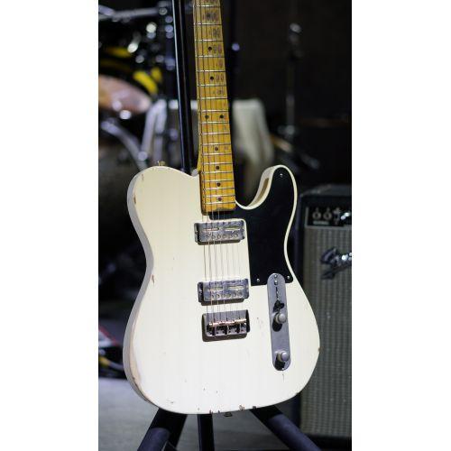 Nashguitars 客製仿舊吉他 GF2 白色 / 中度仿古 Medium / 楓木指板