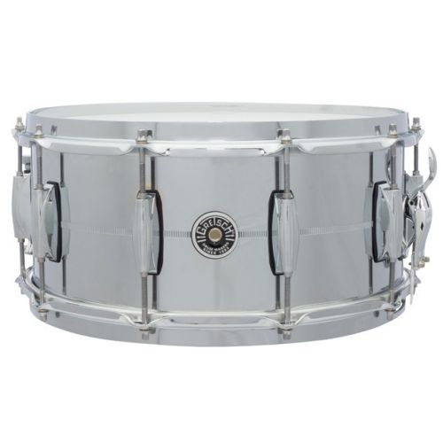 Gretsch Brooklyn 小鼓 6.5x14 Chrome Over Steel GB-4164-S