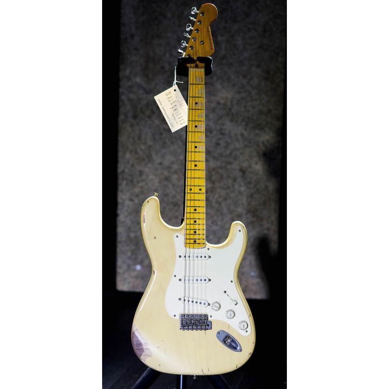 Nashguitars 客製仿舊吉他 S57 Cream 奶油色 / 中度仿古 Medium / 楓木指板