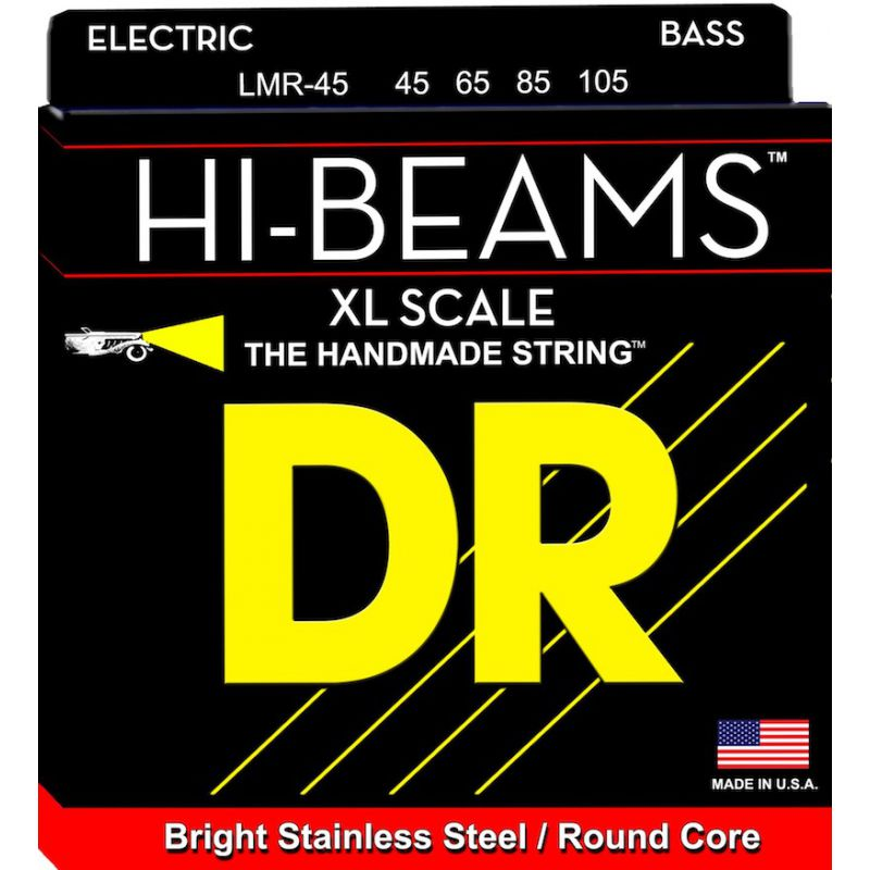 DR 電貝斯弦 LMR-45 Hi-Beam 45-105 四弦