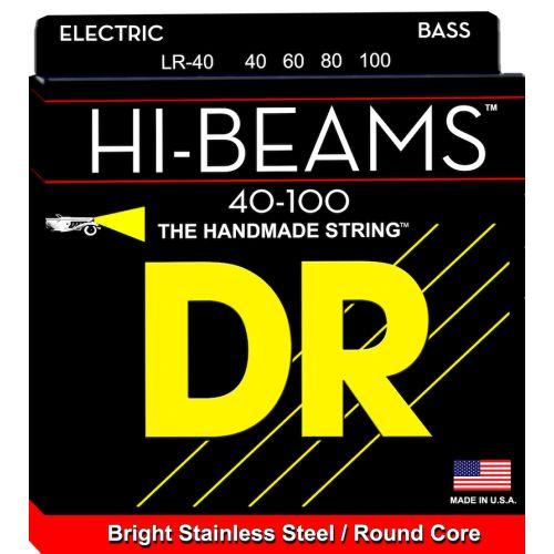 DR 電貝斯弦 LR-40 Hi-Beams 40-100 不銹鋼弦 四弦