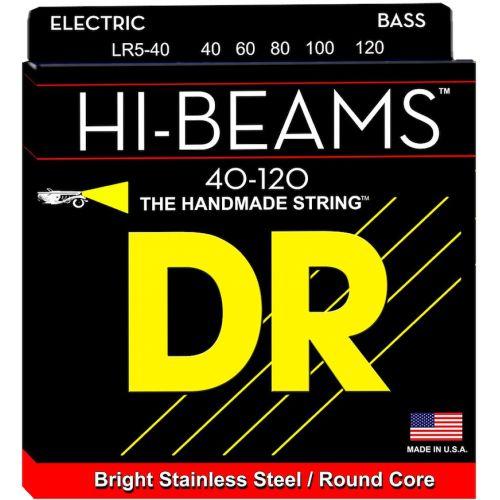 DR 電貝斯弦 LR5-40 Hi-Beams 40-120 五弦
