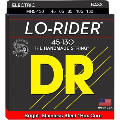 DR 電貝斯弦 MH5-130 Lo-Rider 45-130 五弦
