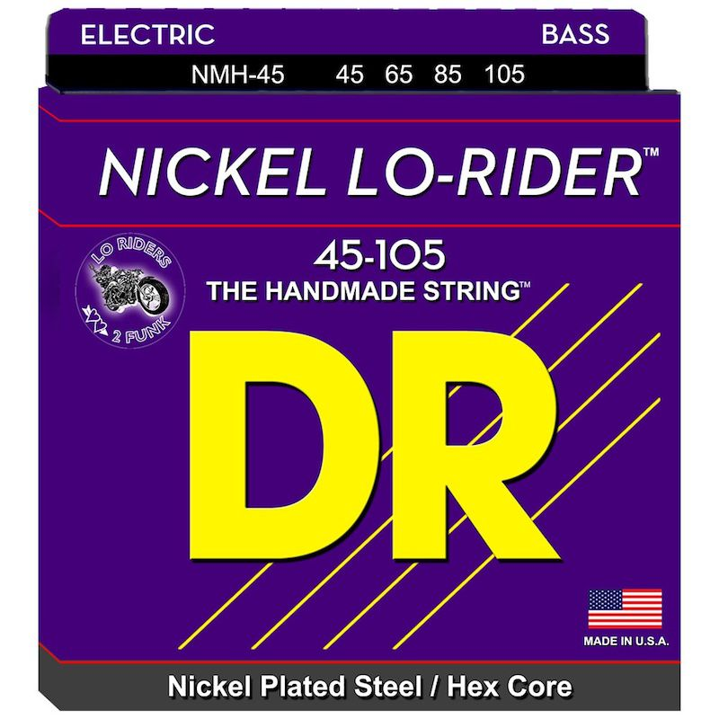 DR 電貝斯弦 NMH45 Lo-Rider 45-105