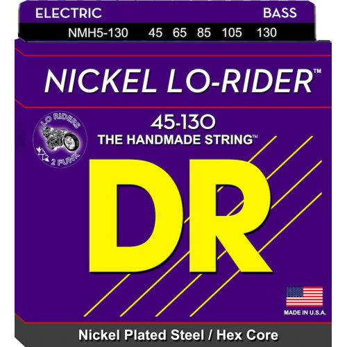 DR 電貝斯弦 NMH5-130 Lo-Rider 45-130