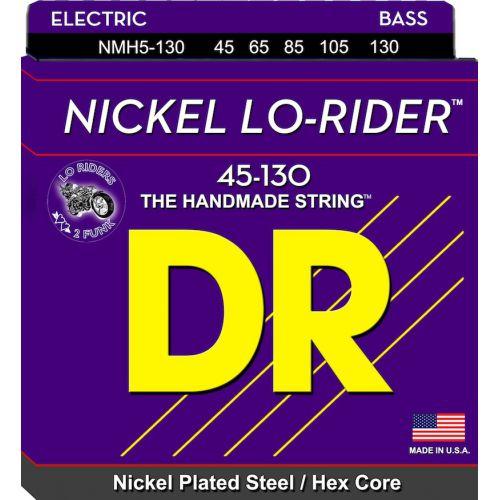 DR 電貝斯弦 NMH5-130 Lo-Rider 45-130 五弦