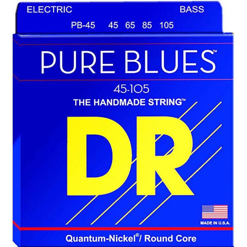 DR 電貝斯弦 PB-45 Pure Blue 45-105