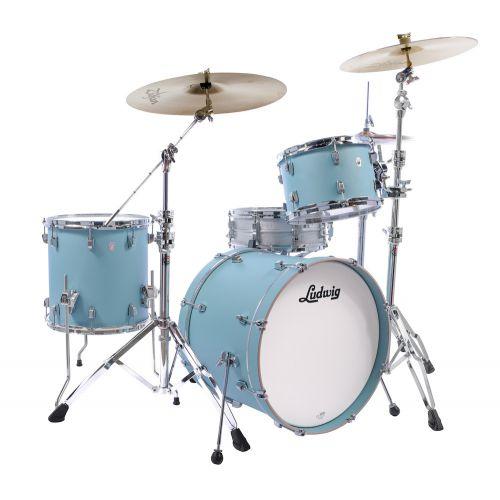 Ludwig NeuSonic 鼓組 天空藍 Skyline Blue 3粒組