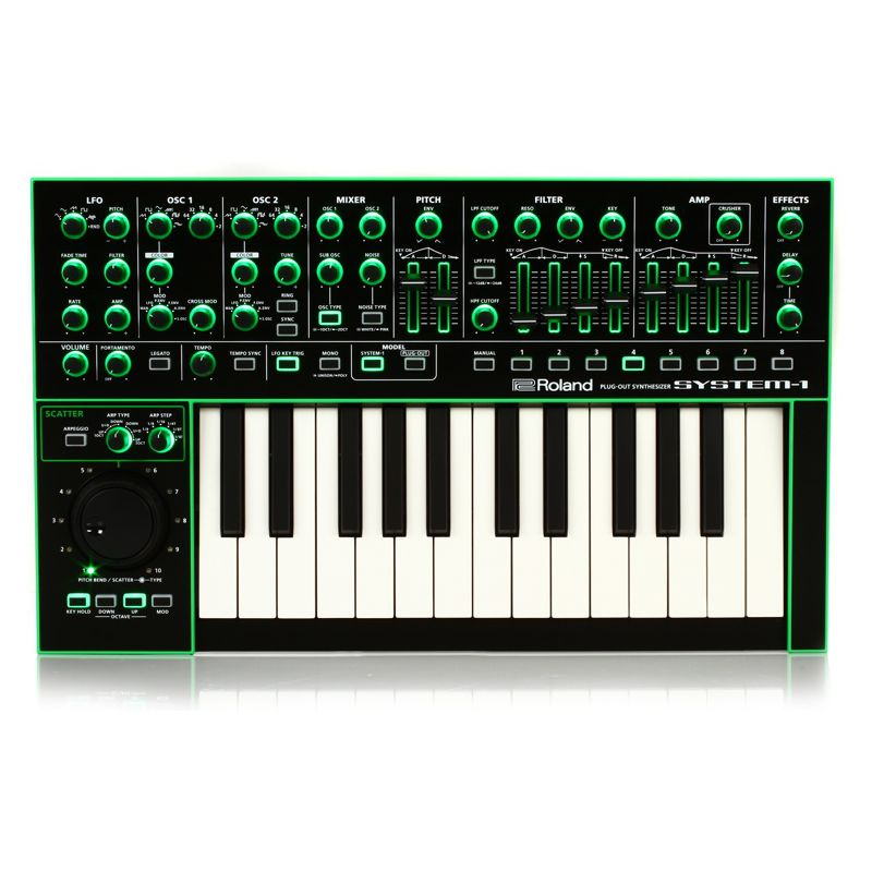 Roland SYSTEM-1 PLUG-OUT Synthesizer 25鍵 合成器