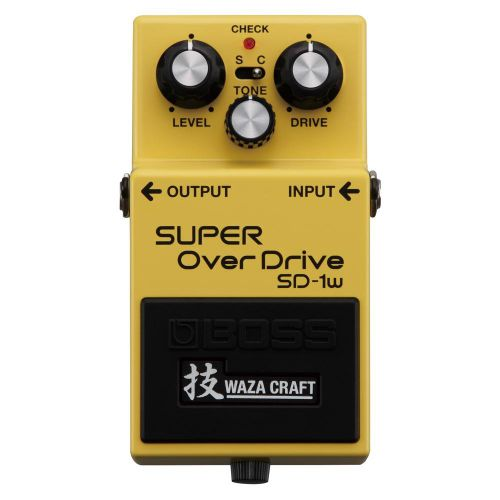 BOSS SD-1W Super OverDrive 破音效果器