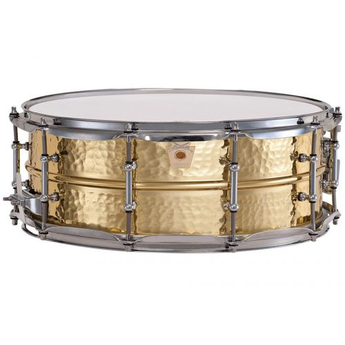 Ludwig LB420BKT Hammered Brass 5x14