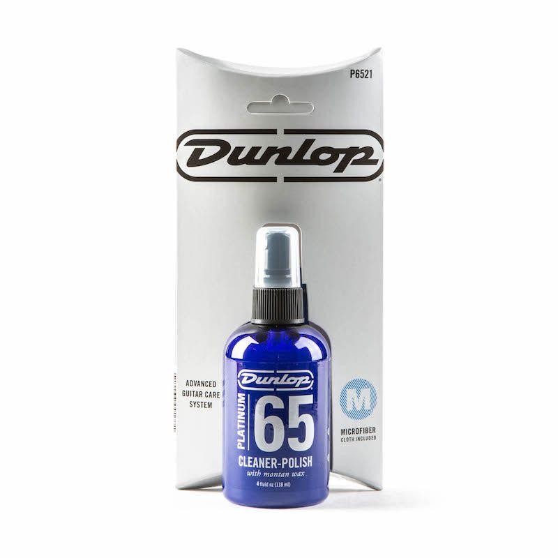 Dunlop 清潔組 亮光液+拭琴布