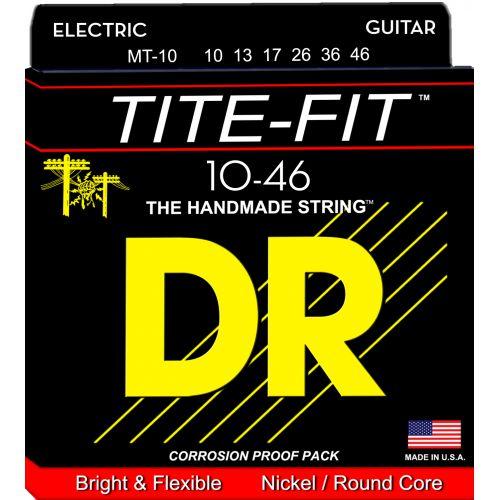 DR Tite-Fit 10-46 電吉他弦 MT10