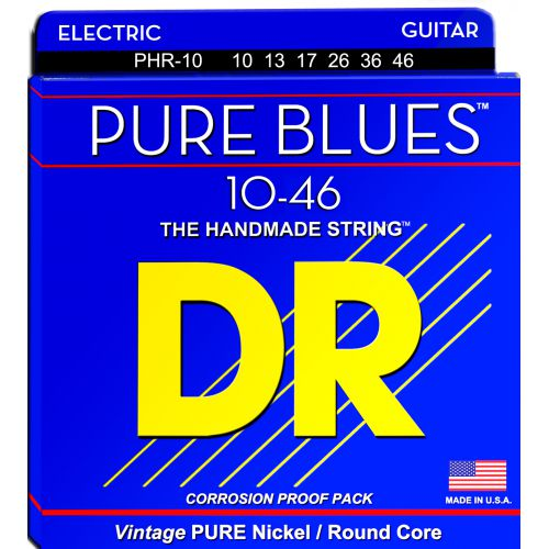 DR Pure Blues 10-46 電吉他弦 PHR-10