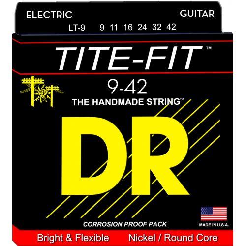 DR Tite-Fit 09-42 電吉他弦 LT9