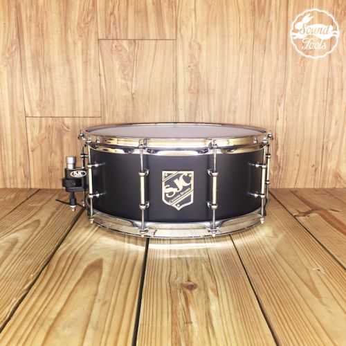 SJC 6x14 Black Satin 小鼓