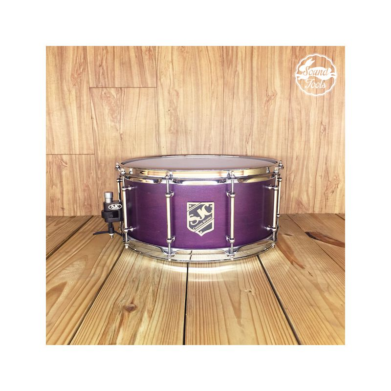 SJC 6.5x14 Purple Satin 小鼓