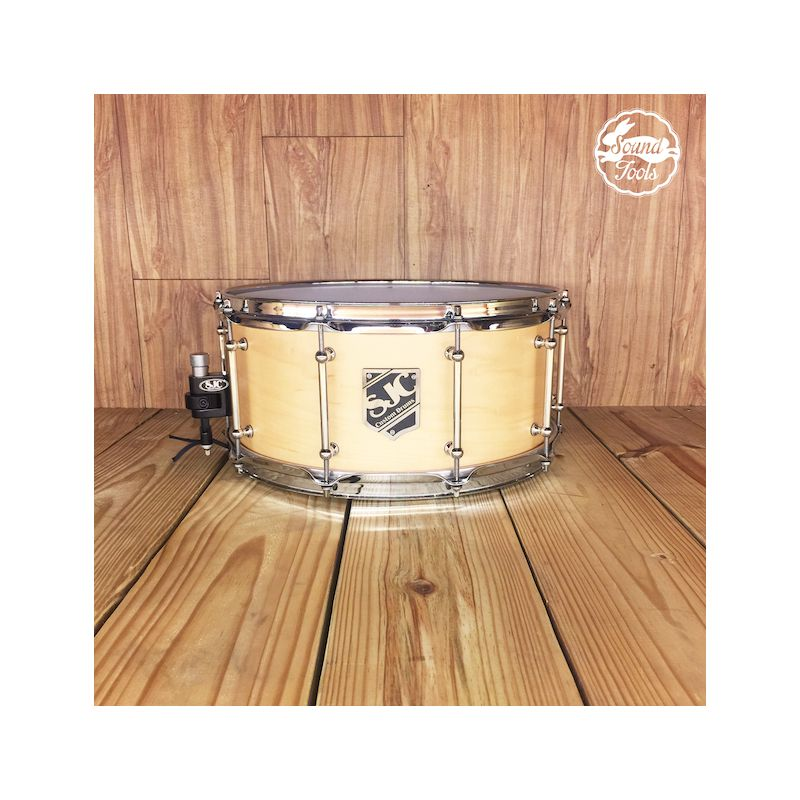 SJC 6.5x14 Natural Satin