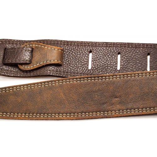 LM Products CLUB雙層真皮背帶 雙縫線 兩色可選