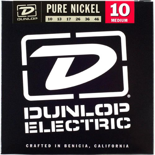 Dunlop 10-46 純鎳電吉他弦 / Pure Nickel DEK1046