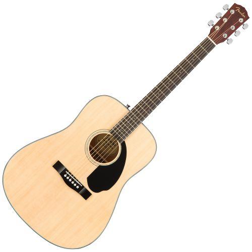 Fender CD-60S D桶面單板木吉他 - 原木色