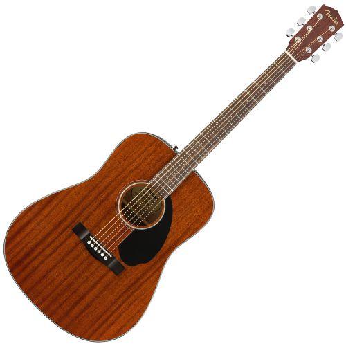 Fender CD-60S D桶面單板木吉他 全桃花心木
