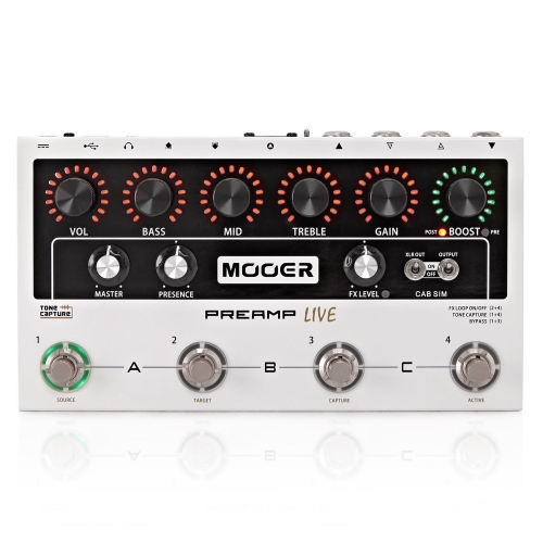 Mooer Preamp Live 前級效果器