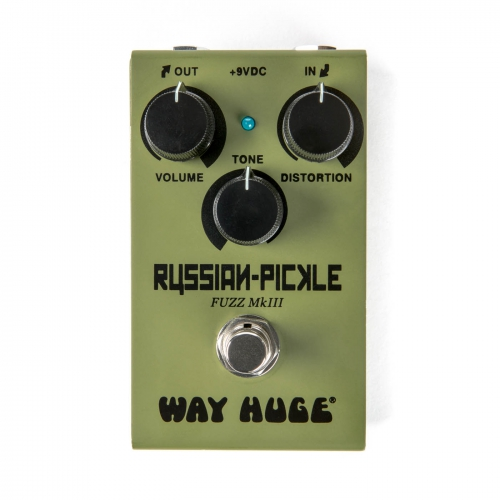 Dunlop Fuzz效果器 Way Huge Smalls Russian-Pickle WM42