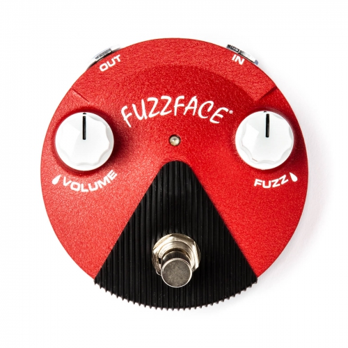 Dunlop Fuzz效果器 Jimi Hendrix Band of Gypsys Fuzz Face Mini Distortion FFM6