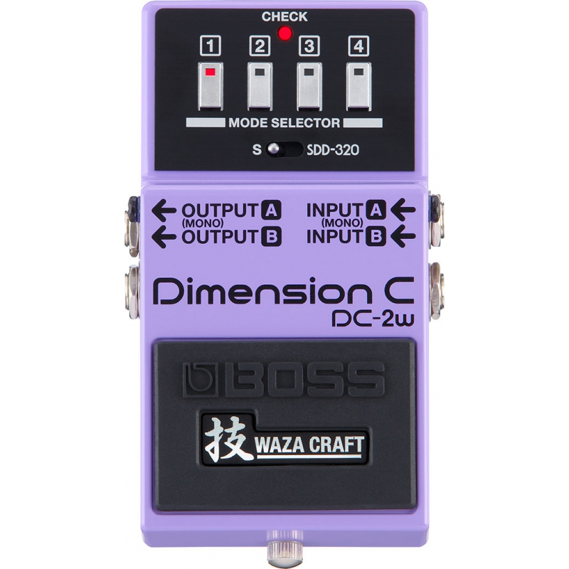 BOSS DC-2w Chorus 效果器 Dimension C Waza