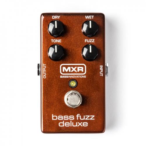 Dunlop MXR 貝斯Fuzz效果器 Bass Fuzz Deluxe M84