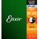Elixir Nanoweb Bass 四弦 50-105 / 不鏽鋼 (14702)
