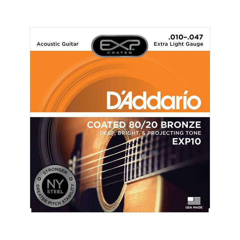 D'Addario EXP10 (10-47) 80/20 Bronze