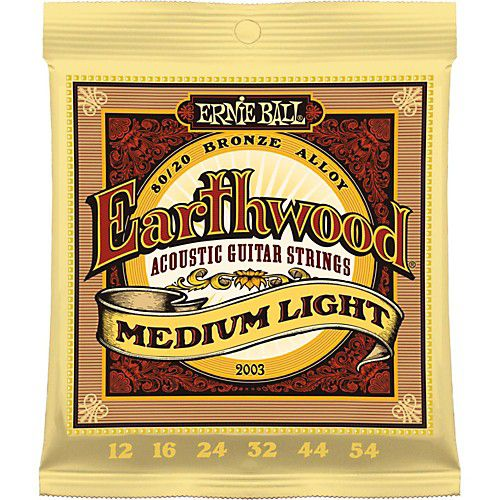 Ernie Ball Earthwood 12-54 木吉他弦 80/20 Bronze (2003)