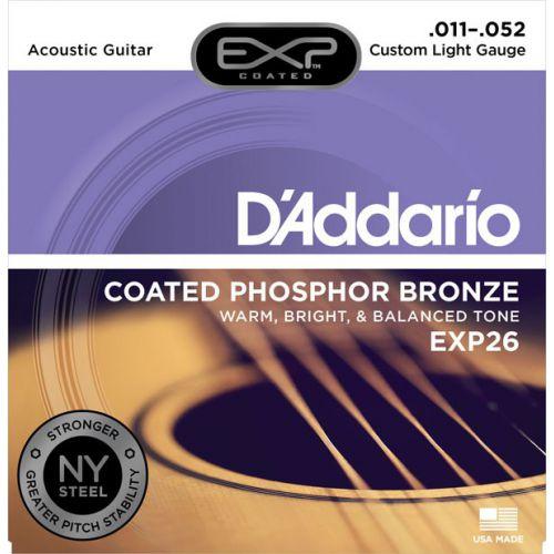 D'Addario EXP26 11-52 木吉他弦 Phospher Bronze 磷青銅