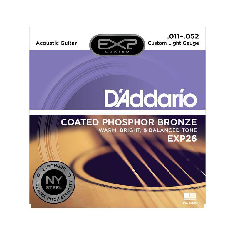 D'Addario EXP26 (11-52) Phospher Bronze