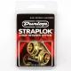 Dunlop Dual Design Straplok System 安全背帶扣 銅色
