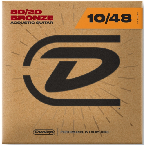 Dunlop 10-48 木吉他弦 80/20 Bronze DAB1048
